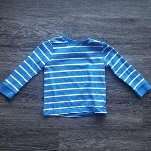 2/$10. F&F striped shirt NWOT